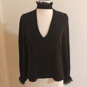 Alexis Choker Neck Blouse